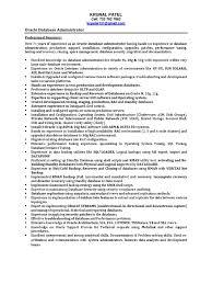 Sql Resume Example Sample Resume For Sql Server Dba shalomhouseus 57