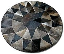 round cowhide rug grey brindle cowhide rug fresh round single star cowhide rug kitchen cowhide