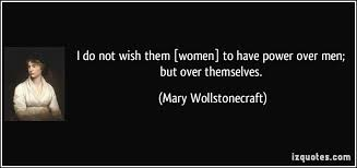 Mary Wollstonecraft Quotes About Equality. QuotesGram via Relatably.com