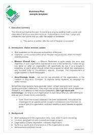 Sample Business Letter Of Intent Template Free Templates
