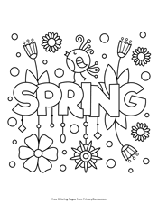 Small Picture Spring Coloring Pages PrimaryGames Play Free Online Games