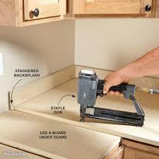diy granite countertops installing laminate countertops