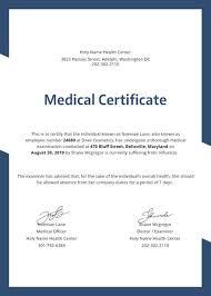 Medical Fitness Certificate Format Doc New Fer Letter Sample