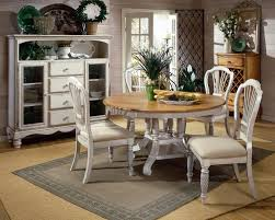 White Round Kitchen Table White Wood Dining Set Enchanting Dining Room Ideas Design With