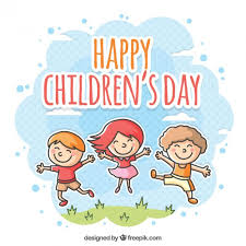 How To Make Children S Day Chart Happy Childrens Day Illustration Vector Free Download