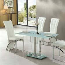 small glass dining table. Jet Small Glass Dining Table Rectangular In White L