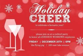 Office Christmas Party Invitation Wording Holiday Work Party Invite