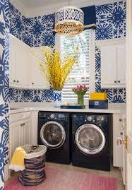 Laundry Room Wallpaper Designs Tricias One Room Challenge Favorites Laundry Room Design