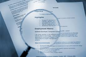Things Not To Have On Your Resume The Red Ink
