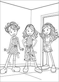Kids N Fun Kleurplaat Groovy Girls Groovy Girls