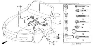 honda online store 2001 s2000 engine wire harness parts 2001 s2000 s2000 2 door 6mt engine wire harness diagram