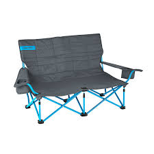 com kelty 61510716sm low loveseat camp chair smoke paradise blue sports outdoors