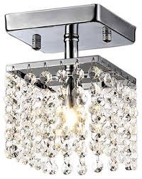 jhea 1 light crystal 5 chandelier chrome