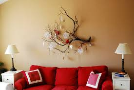Small Picture Marvelous Living Room With Cute Interior Of Red Sofa And Cushion