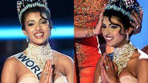 Priyanka Chopra opens up on wardrobe malfunction at Miss World 2000  pageant, says 'tape holding dress had come off'