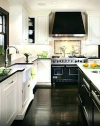 dark kitchen cabinets with dark wood floors pictures white kitchen dark oak floor cabinets black counter
