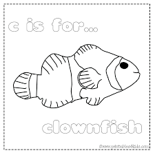 Free Printable Clown Fish Coloring Pages Here Are Clown Fish