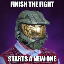 Bad luck Master chief - WeKnowMemes Generator via Relatably.com