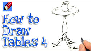 how to draw a roundtable real easy