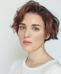 Short Wavy Hair Style youre going to be seeing this haircut everywhere in 2017 girl 5793 by wearticles.com