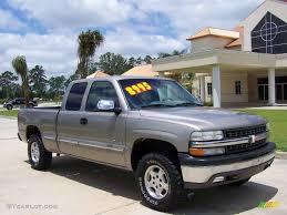2000 Light Pewter Metallic Chevrolet Silverado 1500 LS Extended ...