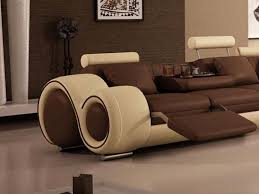 Living Room Sofas And Chairs Modern Reclining Sofa Modern Black Leather Reclining Sofa Set