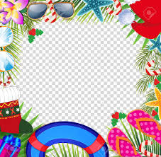 Pictures Of Merry Christmas Design Merry Christmas And Happy New Year Border In A Warm Climate Design