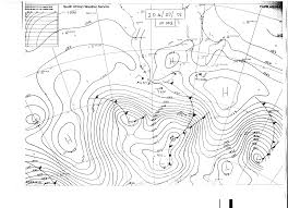 Synoptic Chart Synoptic Chart For Southern Africa Courtesy Of Weathersa Co