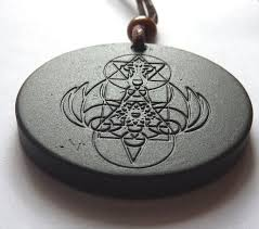 front side scalar energy pendant 7000 ion reverse side