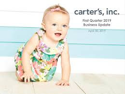 Carters Inc Carters Inc 2019 Q1 Results Earnings Call Slides