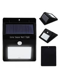 high dream cordless solar powered led wall light pir sensor cds night sensor lx10