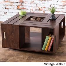 best wooden crate coffee table ideas on diy crate