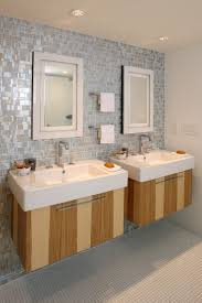 Luxury Bathrooms With Vessel Sinks Design : Gorgeous Bethroom Design With  Twin Vessel Sink Ideas