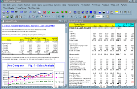 finance report templates screen shot business plan software template financial projections
