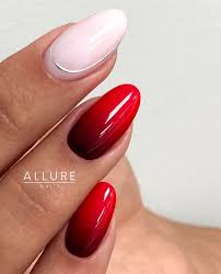 Nail Designs Red Ombre Redombre Ombre 70th Red Ombre In 2019 Nails Nail Art