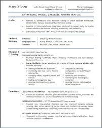 Entry Level Network Administrator Resume Examples Sample Civilian