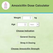 Amoxicillin Paediatric Dose Calculator Health Navigator Nz