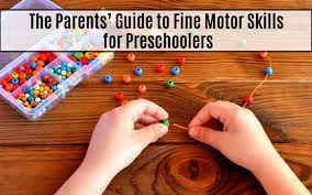 why are fine motor skills important in
