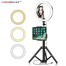 Big Ring Light With Stand 10inch Circle Ring Light With Tripod Stand Big Phone Clip