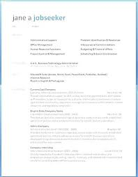 Attractive Resume Templates Fascinating Word Resume Template Microsoft 48 Download Attractive Templates