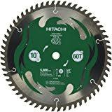 hitachi uu240f. hitachi 115435 10\u201d 60t fine finish vpr miter saw blade uu240f h