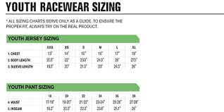 Thor Youth Size Chart Fxtradingcharts Com