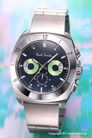 trend watch rakuten global market paul smith x2f paul smith paul smith paul smith watch men disk eyes chronograph disk aizu chronograph navy