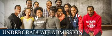 undergraduate admission howard university giving