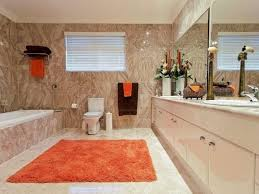 perfect red bathroom rugs