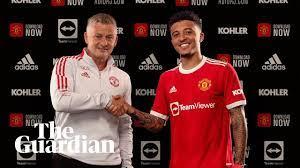 Jadon Sancho seals £73m Manchester United move from Dortmund | Manchester  United
