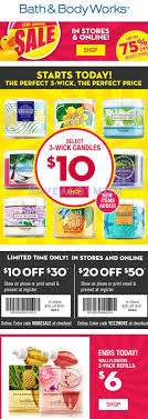 bath and body works semi annual sale end date bath body works semi annual sale and 10 20 off coupons for you
