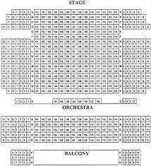 Kaye Playhouse Seating Chart The Kaye Playhouse Seating Chart Theatre In New York