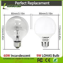 G30 Bulb Size Chart 9w 20w G25 G30 G40 5000k Led Globe Light Bulb With Ce Rohs Ul
