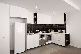 apartment kitchen design ideas pictures. Small Apartment Kitchen Design Ideas Beautiful White Wooden Cabinets Countertop Built In L Shaped Cabinet Old Fashion Pendant Lighting Decoration Modern Pictures O